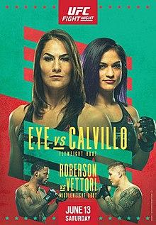 UFC on ESPN: Eye vs. Calvillo Fight Poster