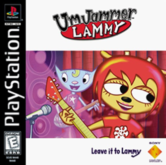 Um Jammer Lammy - North American cover art featuring Lammy and Katy
