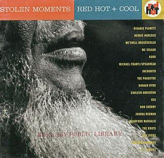 Stolen Moments: Red Hot + Cool - Image: Various Stolen Moments Red Hot + Cool