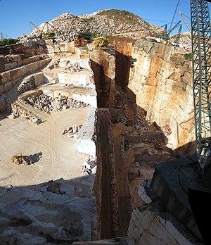 Estremoz - Marble quarry near Vila Viçosa