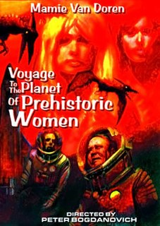 <i>Voyage to the Planet of Prehistoric Women</i> 1968 film by Peter Bogdanovich
