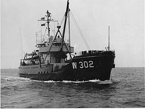 USCGC Madrona (WLB-302) - Image: Wagl 302madrona 1961