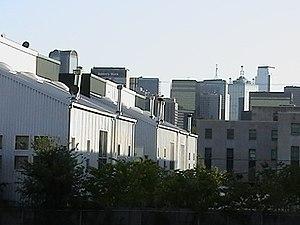 Bryan Place, Dallas - Washington Street Townhomes addition, 2001-2003