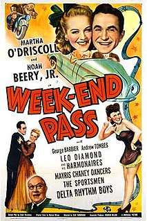 <i>Week-End Pass</i> 1944 American film