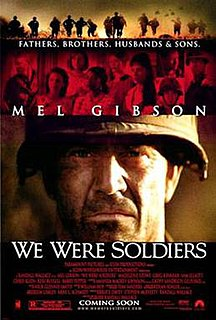 <i>We Were Soldiers</i> 2002 film directed by Randall Wallace