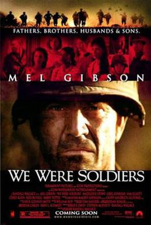 We Were Soldiers - Theatrical release poster