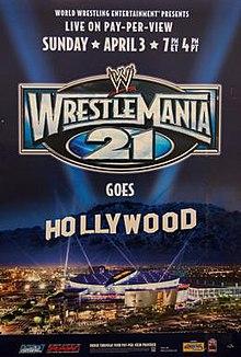 WrestleMania 21 - Wikipedia