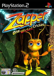 <i>Zapper: One Wicked Cricket</i> 2002 video game