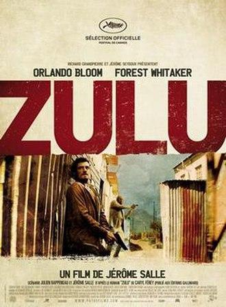 Zulu (2013 film) - Film poster