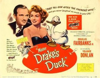 <i>Mister Drakes Duck</i> 1951 film by Val Guest