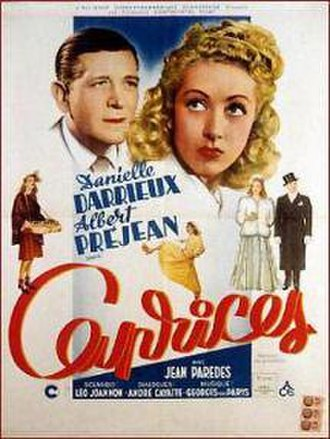 Caprices (film) - Theatrical poster
