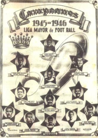 Tiburones Rojos de Veracruz - 1945–46 championship club.