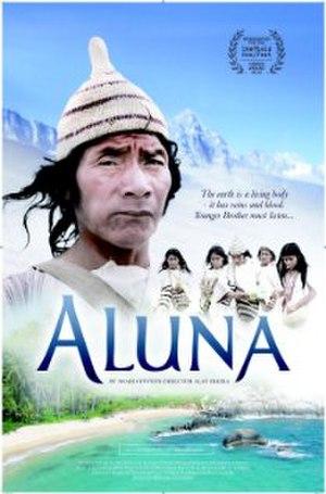Aluna - Theatrical release poster