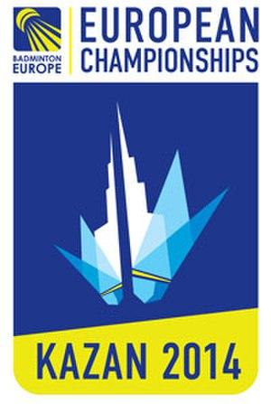 2014 European Badminton Championships - Image: 2014 European Badminton Championships logo