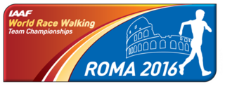 2016 IAAF World Race Walking Team Championships 27th edition of global racewalking tournament