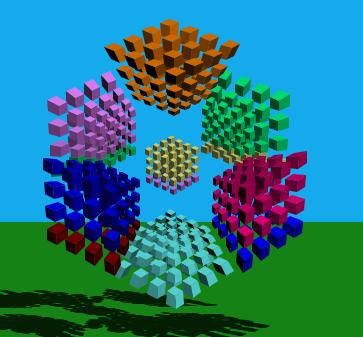4-cube 4^4