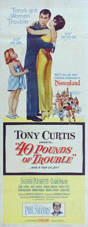 40 Pounds of Trouble - Theatrical release poster