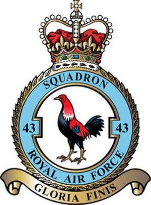 No. 43 Squadron RAF - Image: 43 Squadron RAF