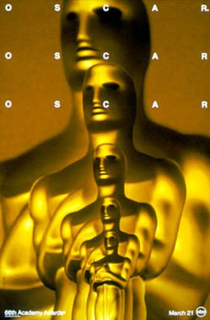 66th Academy Awards - Official poster