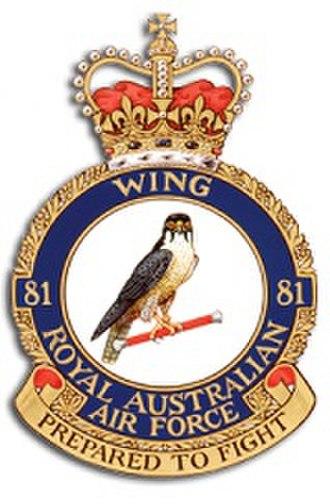 No. 81 Wing RAAF - Image: 81Wing RAAF
