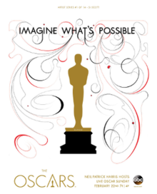 Official poster promoting the 87th Academy Awards in 2015.