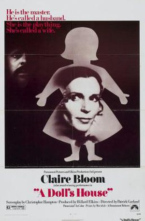 A Doll's House (1973 Garland film) - US theatrical poster
