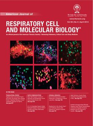 American Journal of Respiratory Cell and Molecular Biology - Image: AJRCMB April 2014 Cover