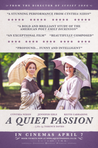 A Quiet Passion - British release poster