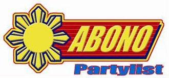 Abono party-list - Image: Abono PL logo