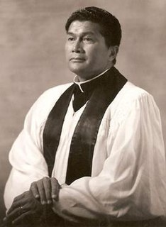 Native Hawaiiian American Congregationalist minister, first chairman of the Hawaii Advisory Committee of the U.S. Civil Rights Commission
