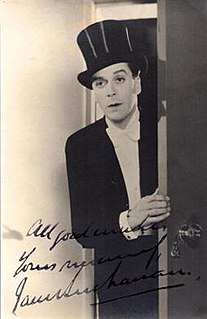 Jack Buchanan Scottish actor, singer, director and producer