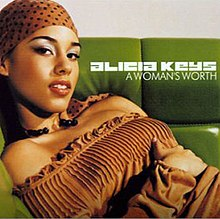 Alicia Keys - A Woman's Worth - CD single cover.jpg