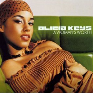 A Woman's Worth - Image: Alicia Keys A Woman's Worth CD single cover