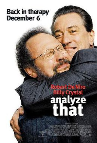 Picture of a movie: Analyze That
