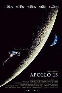 <i>Apollo 13</i> (film) 1995 film by Ron Howard
