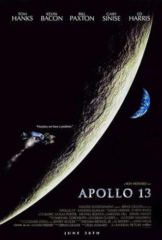 Apollo 13 (film) - Theatrical release poster