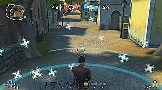 Battlefield Heroes - A screenshot showing early gameplay shown in the official trailer