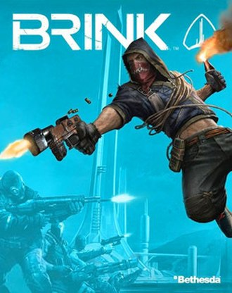 Brink (video game) - Cover art