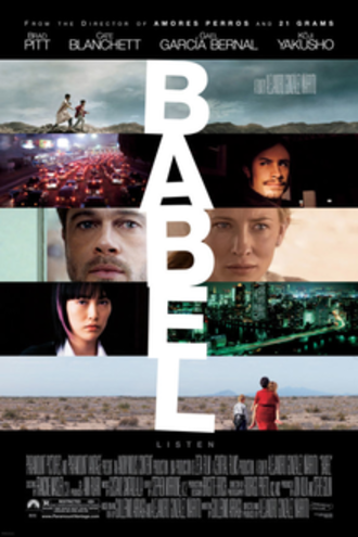 Babel (film) - Theatrical release poster