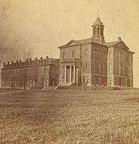 Bates College in the 1860s