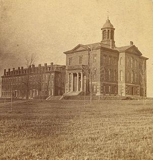 Hathorn Hall - Image: Bates College