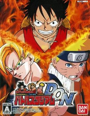 Battle Stadium D.O.N - GameCube cover art