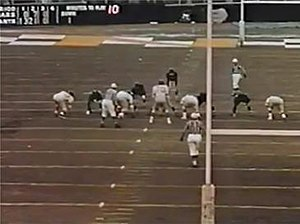 1956 NFL Championship Game - Image: Bears 56shortpunt
