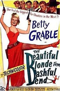 <i>The Beautiful Blonde from Bashful Bend</i> 1949 film by Preston Sturges