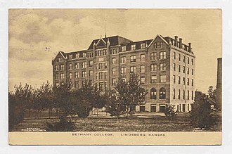 Bethany College (Kansas) - Bethany College at the turn of the twentieth century