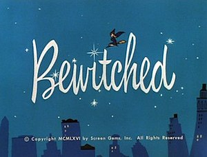 Bewitched - Image: Bewitched color title card