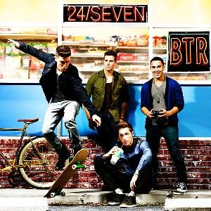 24/Seven (Big Time Rush album) - Image: Big Time Rush 24Seven