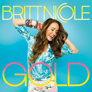 Gold (Britt Nicole album) - Image: Britt Nicole Gold blue