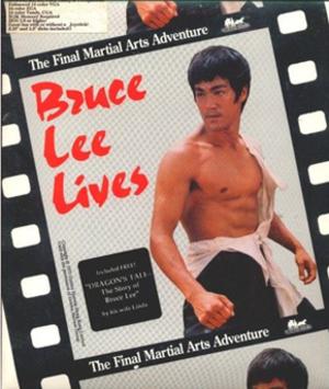 Bruce Lee Lives - Front cover