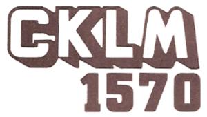 CKLM - Image: CKLM 1570 logo 1980